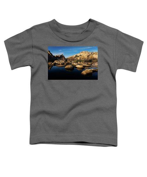 Barker Dam Lake Toddler T-Shirt
