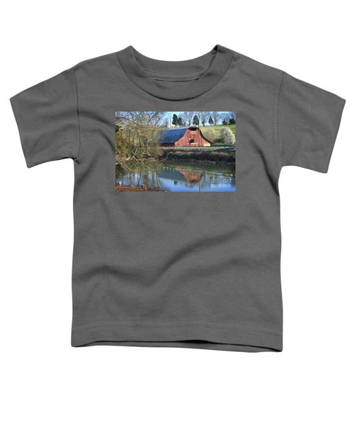 Barn And Reflections Toddler T-Shirt