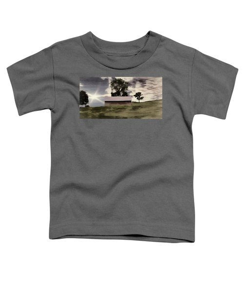 Barn II A Digital Painting Toddler T-Shirt