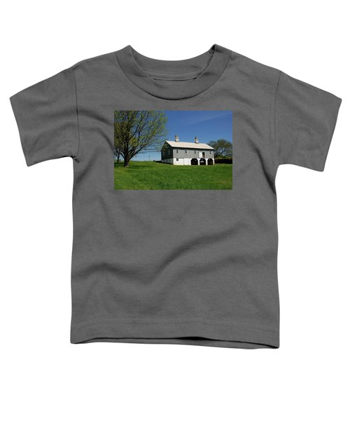 Barn In The Country - Bayonet Farm Toddler T-Shirt