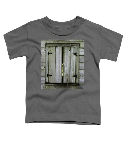 Barn Window, In Color Toddler T-Shirt