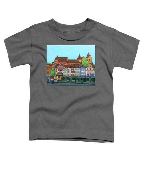 Basel, Barfusserplatz Rendez-vous Toddler T-Shirt