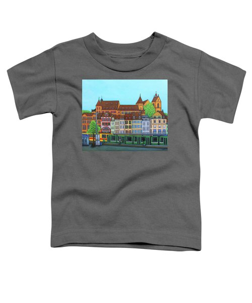 Basel, Barfusserplatz Rendez-vous Toddler T-Shirt