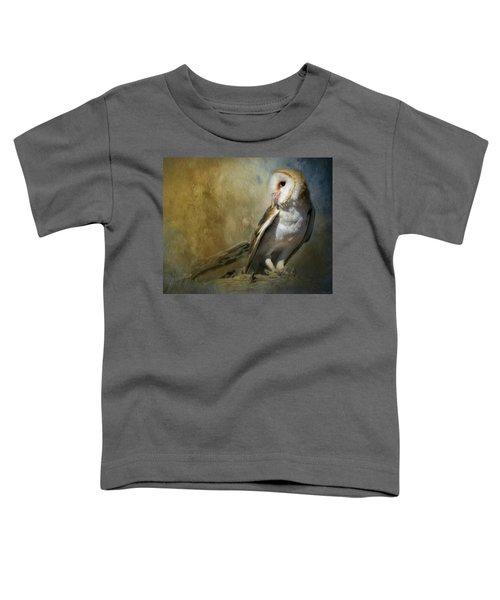 Bashful Barn Owl Toddler T-Shirt