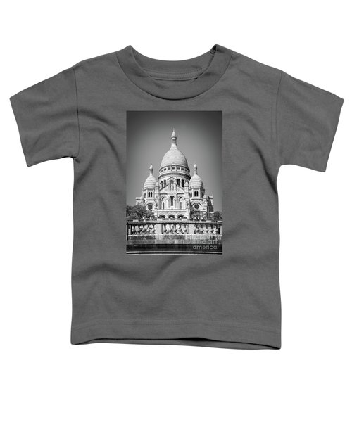 Basilica Of The Sacred Heart In Montmartre Toddler T-Shirt