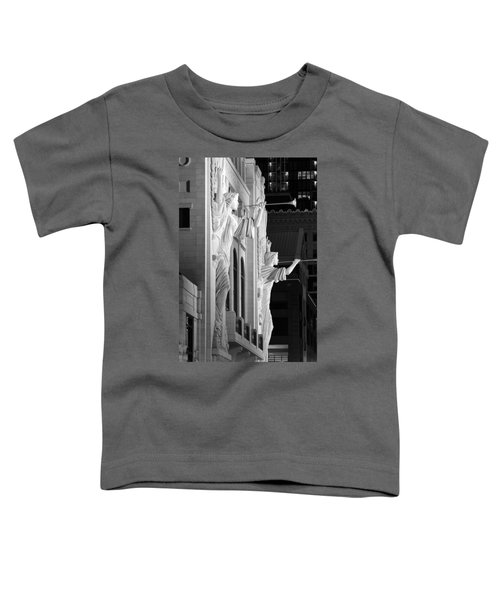 Bass Hall Fort Worth 520 Bw Toddler T-Shirt