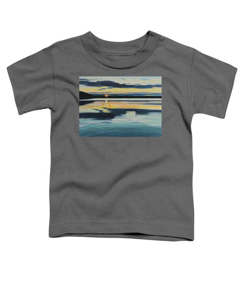 Bass Lake Sunset Toddler T-Shirt