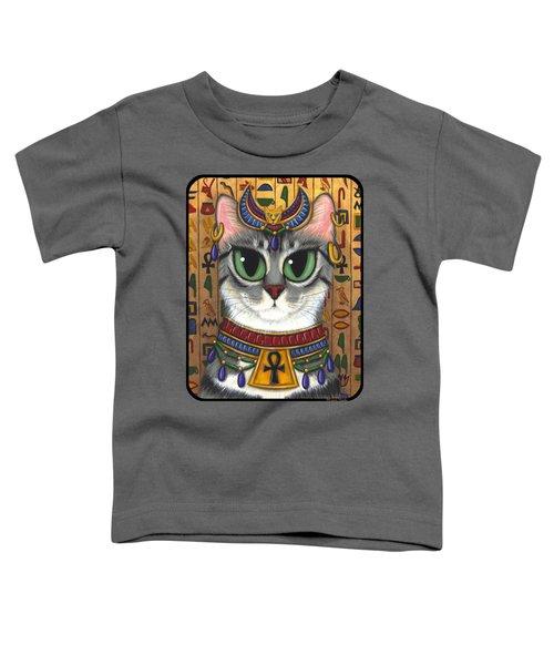 Bast Goddess - Egyptian Bastet Toddler T-Shirt