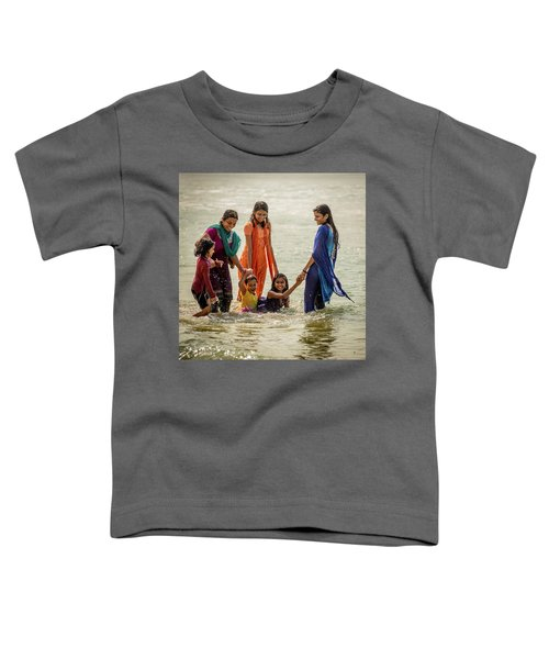 Bathing At Varkala II Toddler T-Shirt