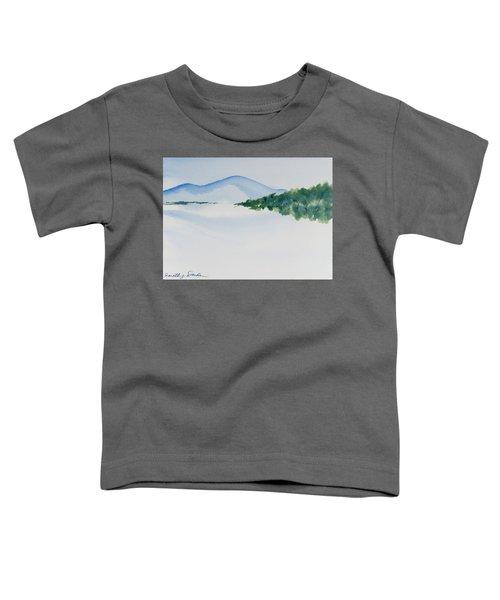 Bathurst Harbour Reflections Toddler T-Shirt