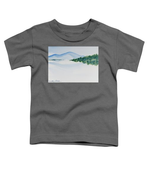 Bathurst Harbour Reflections Toddler T-Shirt