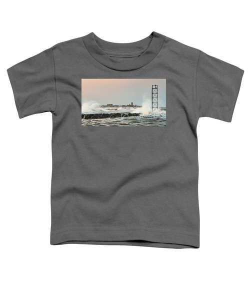 Battering The Shark River Inlet Toddler T-Shirt