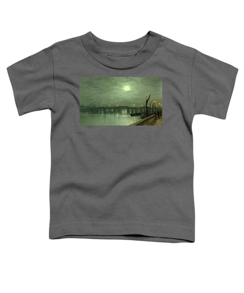 Battersea Bridge By Moonlight Toddler T-Shirt