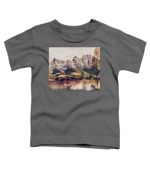 Bavarian Landscape Toddler T-Shirt