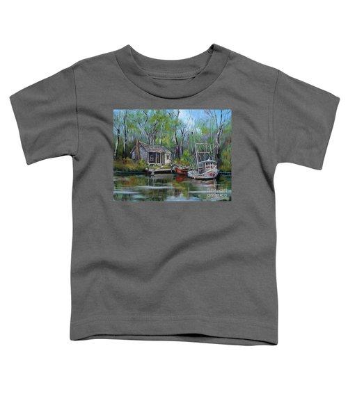 Bayou Shrimper Toddler T-Shirt