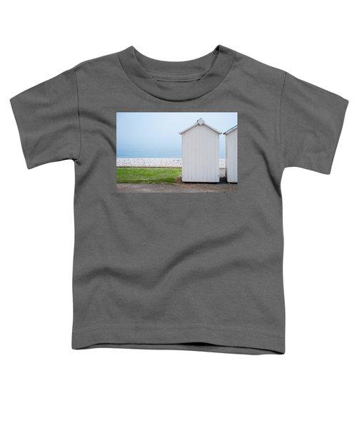 Beach Hut By The Sea Toddler T-Shirt
