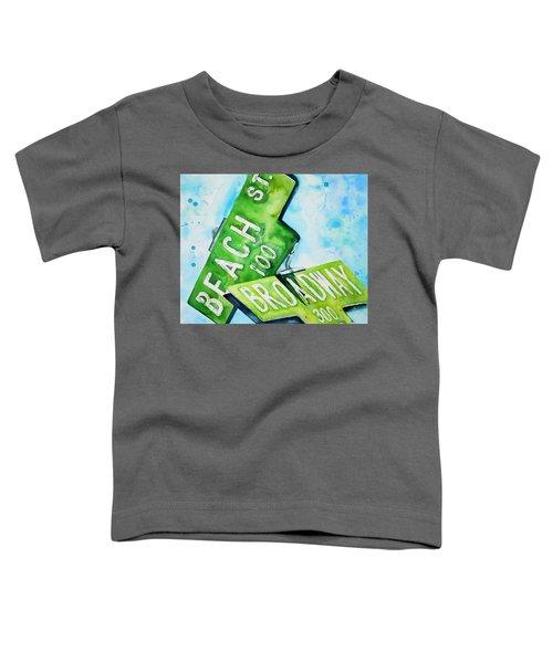 Beach N Broadwary Toddler T-Shirt