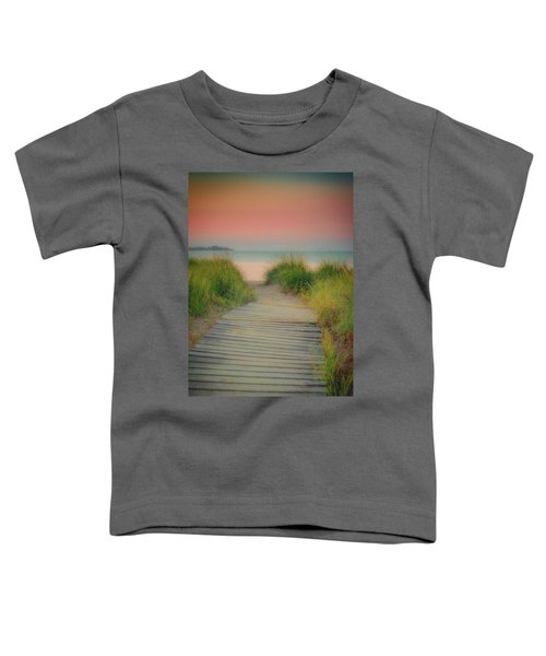 Beach Sunrise Toddler T-Shirt