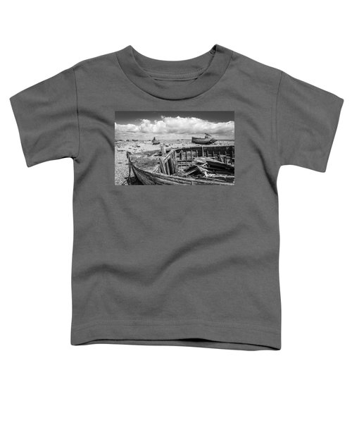 Beached Boats. Toddler T-Shirt