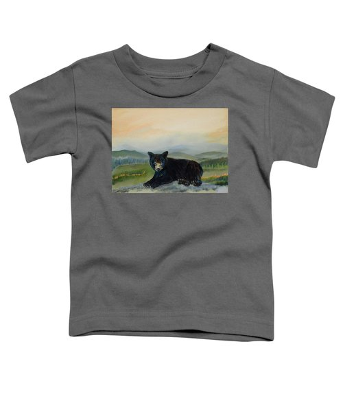 Bear Alone On Blue Ridge Mountain Toddler T-Shirt