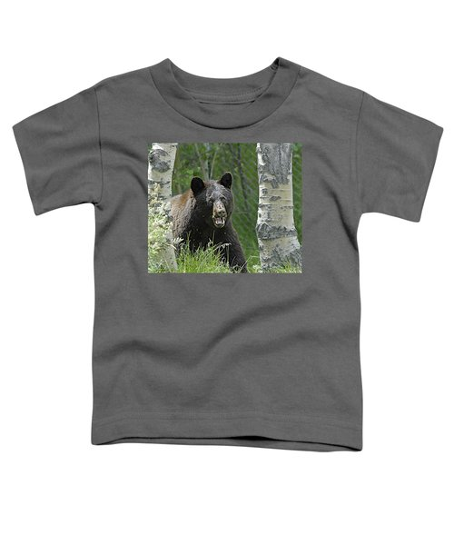 Bear In Yard Toddler T-Shirt