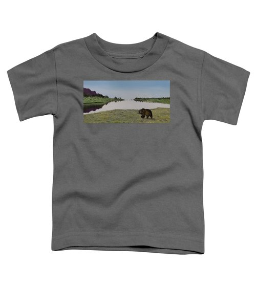 Bear Reflecting Toddler T-Shirt