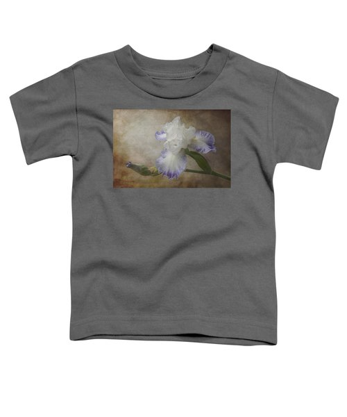 Bearded Iris 'gnuz Spread' Toddler T-Shirt