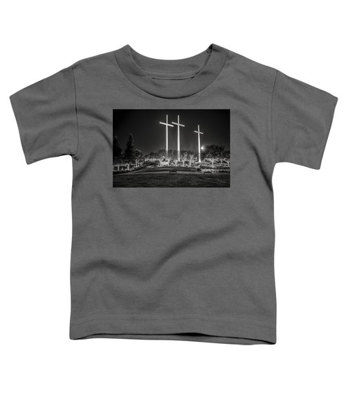 Bearing Witness In Black-and-white Toddler T-Shirt