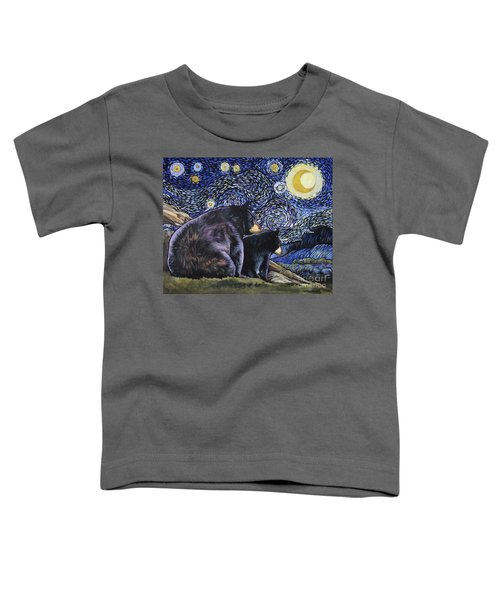 Beary Starry Nights Too Toddler T-Shirt