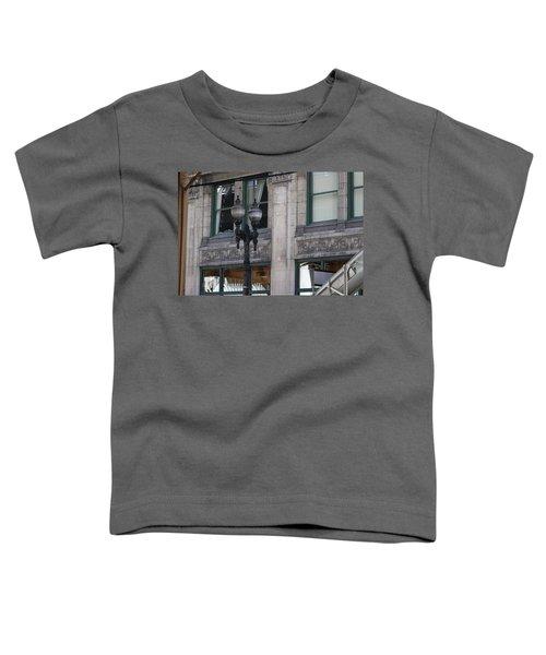Beautiful Chicago Gothic Grunge Toddler T-Shirt