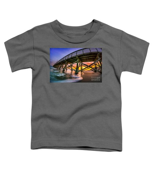 Beautiful Sunset In Myrtle Beach Toddler T-Shirt