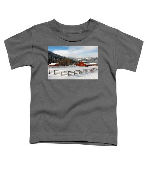 Beautiful Winter Morning Toddler T-Shirt