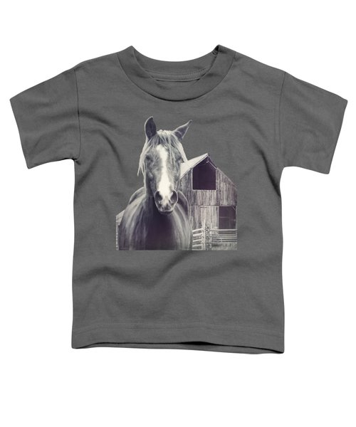 Beauty And The Barn Toddler T-Shirt