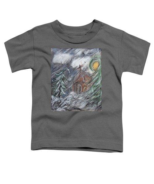 Beauty Of Winter Toddler T-Shirt