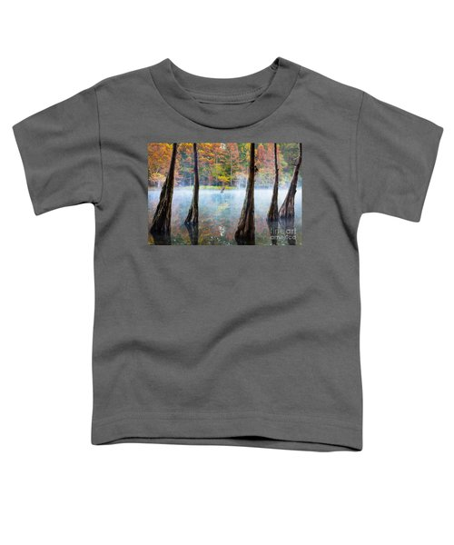 Beavers Bend Cypress Grove Toddler T-Shirt