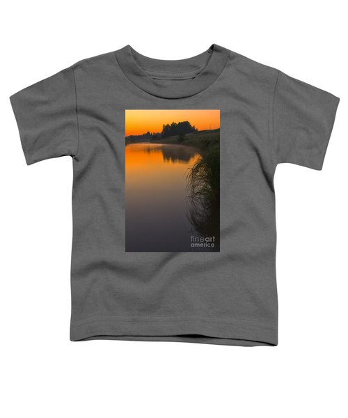 Before Sunrise On The River Toddler T-Shirt