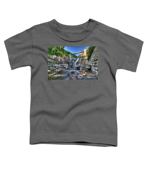 Below The Dam Toddler T-Shirt