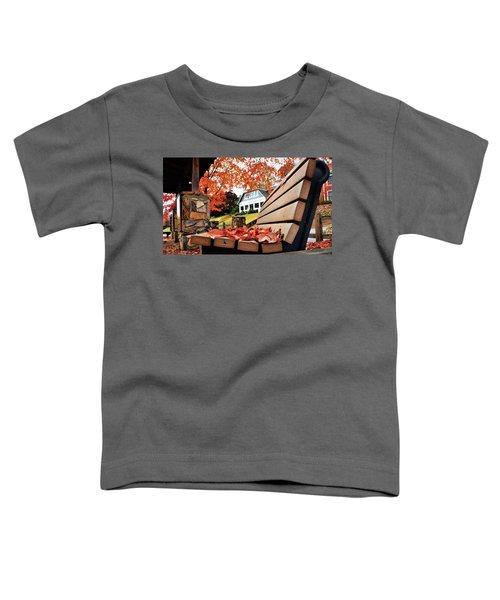 Bench Leaves Toddler T-Shirt