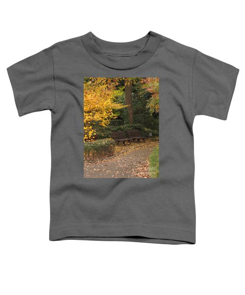 Benches In The Park Toddler T-Shirt