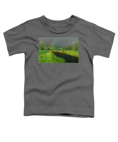Beneath The Waning Mist Toddler T-Shirt