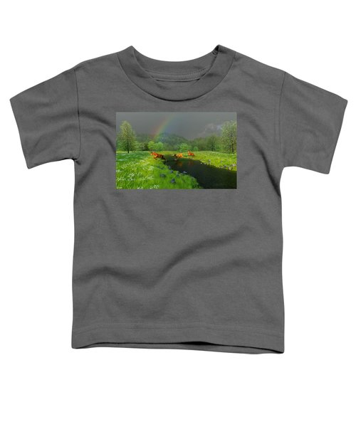 Beneath The Waning Mist Toddler T-Shirt