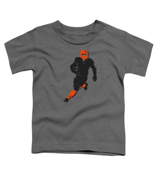 Bengals Player Shirt Toddler T-Shirt by Joe Hamilton
