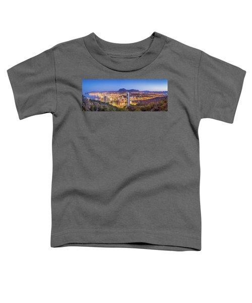 Benidorm At Sunrise, Spain. Toddler T-Shirt