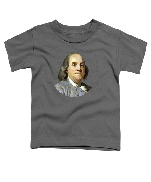 Benjamin Franklin Painting Toddler T-Shirt