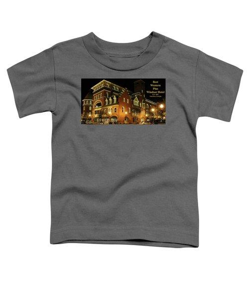 Best Western Plus Windsor Hotel - Christmas -2 Toddler T-Shirt