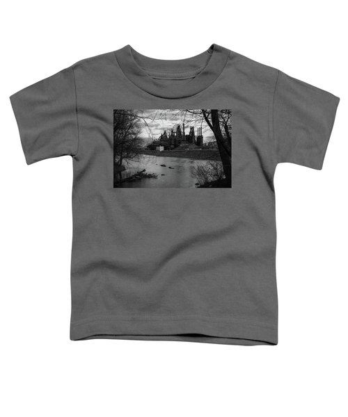 Bethlehem Steel Bw Toddler T-Shirt