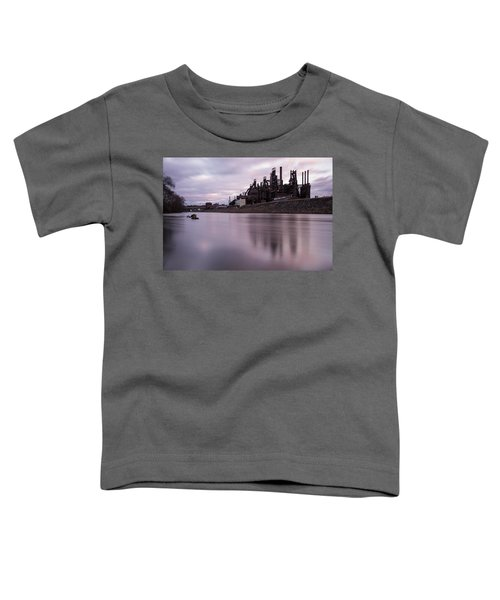 Bethlehem Steel Sunset Toddler T-Shirt