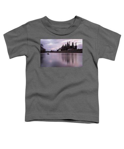 Bethlehem Steel Sunset Toddler T-Shirt
