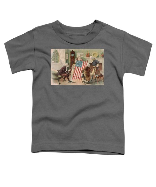 Betsy Ross And The Making Of America Toddler T-Shirt