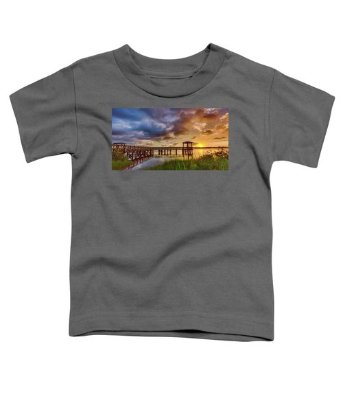 Bicentennial Sunset Toddler T-Shirt